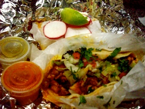 Tacos from the San Luis Truck