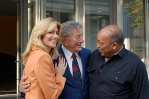 Susan Benedetto, Tony Bennett & Quincy Jones